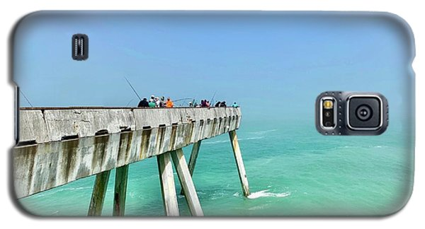 Color Galaxy S5 Case - Pacifica Pier 1 by Julie Gebhardt