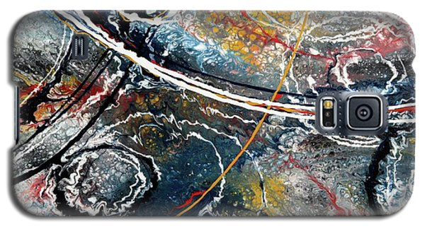 Paint Puddles Galaxy S5 Case