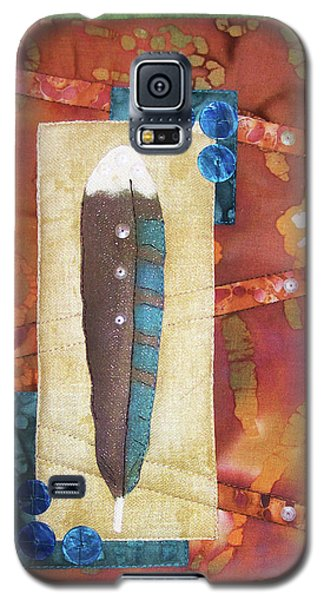 Painted Feather Galaxy S5 Case
