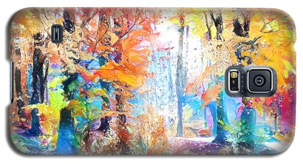 Painted Forest Galaxy S5 Case