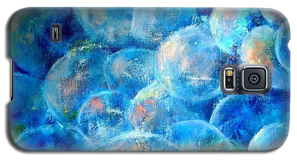 Painterly Bubbles Galaxy S5 Case