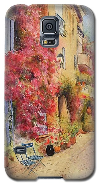 Painting Of Grimauld Village France Galaxy S5 Case