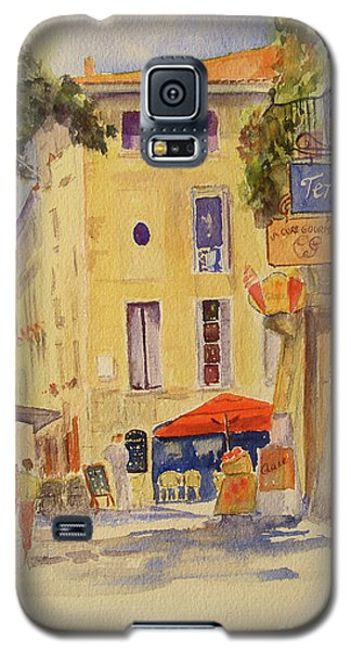 Painting Of Uzes France Galaxy S5 Case