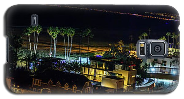 Palisades Park Night - Panorama Galaxy S5 Case