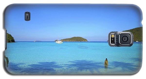 Palm Shadows On The Atlantic Galaxy S5 Case