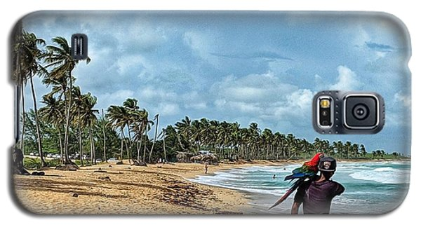 Palm Tree Paradise Galaxy S5 Case