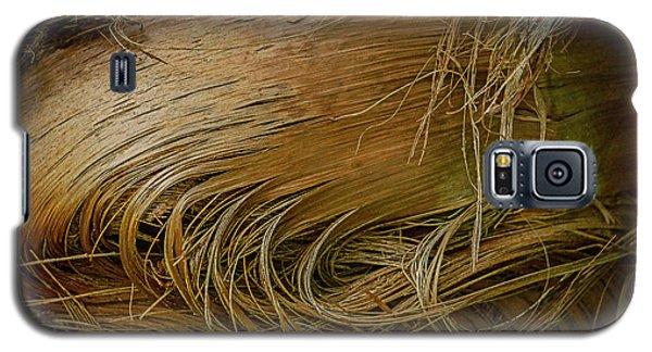Palm Tree Straw Galaxy S5 Case
