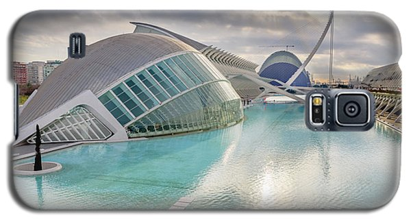 Panoramic Cinema In The City Of Sciences Of Valencia, Spain, Vis Galaxy S5 Case