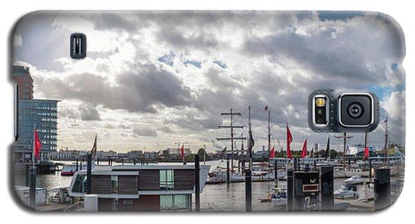 Panoramic View Of Hamburg Galaxy S5 Case