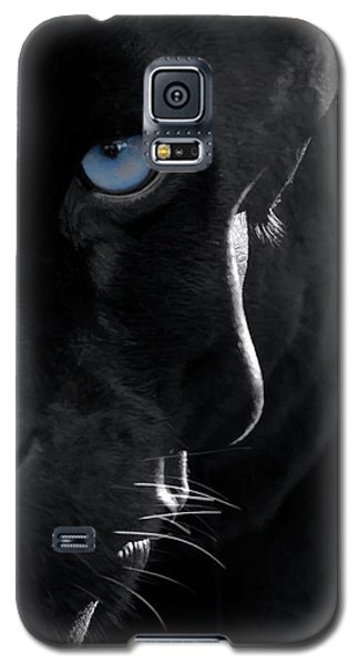 Galaxy S5 Case featuring the digital art Pantheress by ISAW Company