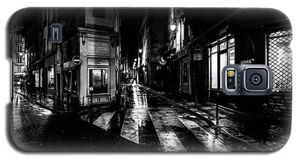 Paris At Night - Rue De Seine Galaxy S5 Case