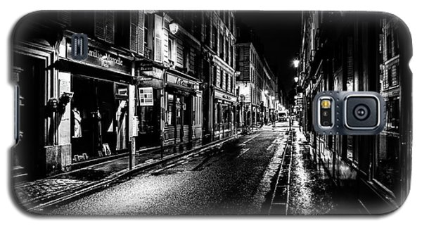 Paris At Night - Rue De Vernueuil Galaxy S5 Case