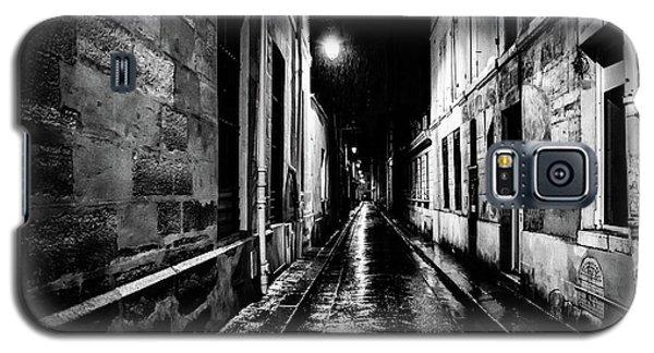 Paris At Night - Rue Visconti Galaxy S5 Case