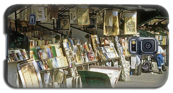 Paris Bookseller Galaxy S5 Case