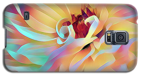 Party Time Dahlia Abstract Galaxy S5 Case