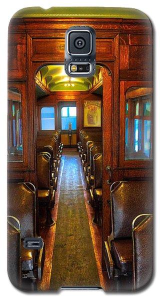 Passenger Train Memories Galaxy S5 Case