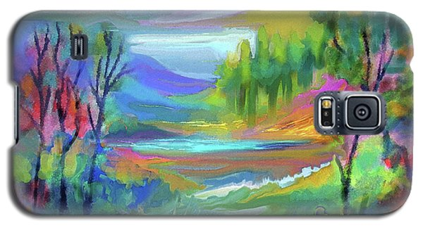 Pastel Landscape Galaxy S5 Case
