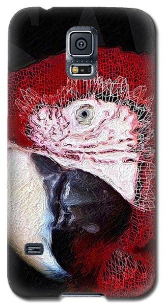 Patchwork Parrot Galaxy S5 Case
