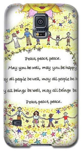 Peace, Peace, Peace Galaxy S5 Case