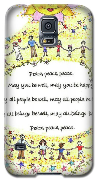 Peace, Peace, Peace Galaxy S5 Case