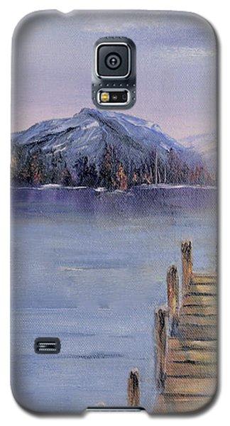 Peaceful Cattails Galaxy S5 Case