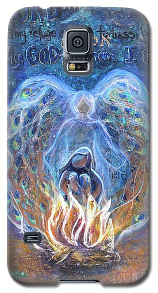 Peacock Angel Galaxy S5 Case
