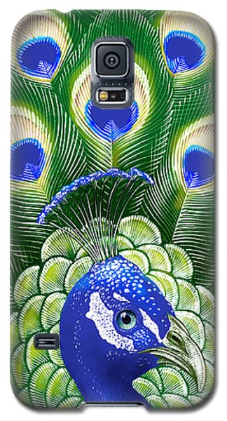 Peacock Galaxy S5 Case