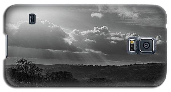 Peak District From Black Rocks In Monochrome Galaxy S5 Case