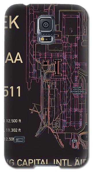 Pek Beijing Capital Airport Galaxy S5 Case