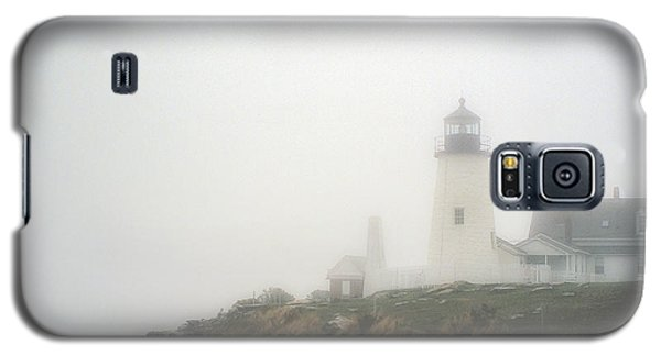 Pemaquid Point Lighthouse In The Fog Galaxy S5 Case