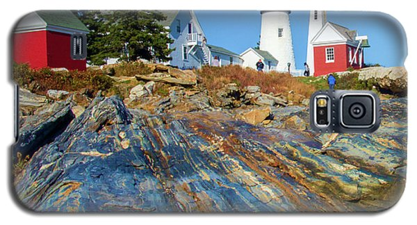 Pemaquid Point Lighthouse  Galaxy S5 Case