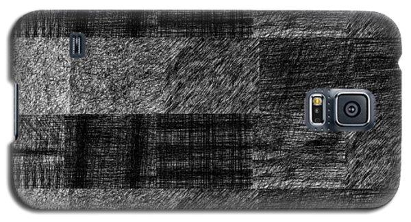 Pencil Scribble Texture 1 Galaxy S5 Case