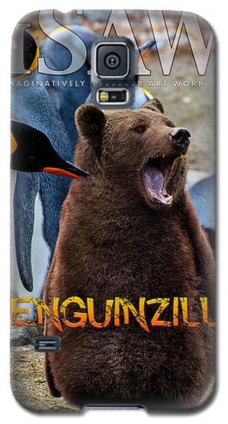 Penguinzilla Galaxy S5 Case
