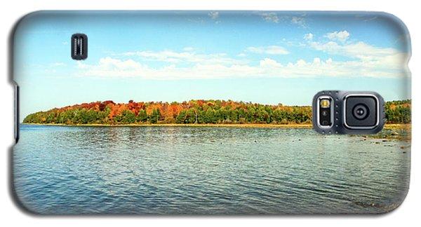 Peninsula Shore In Fall Galaxy S5 Case