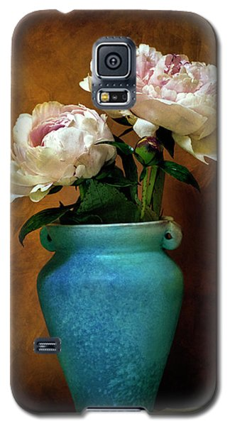 Peonies In Spring Galaxy S5 Case