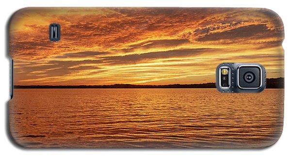 Percy Priest Lake Sunset Galaxy S5 Case