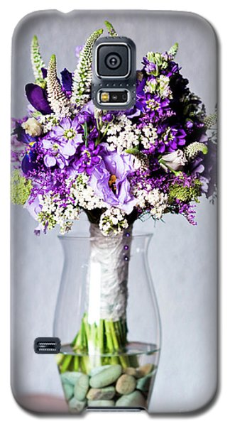 Perfect Bridal Bouquet For Colorful Wedding Day With Natural Flowers. Galaxy S5 Case