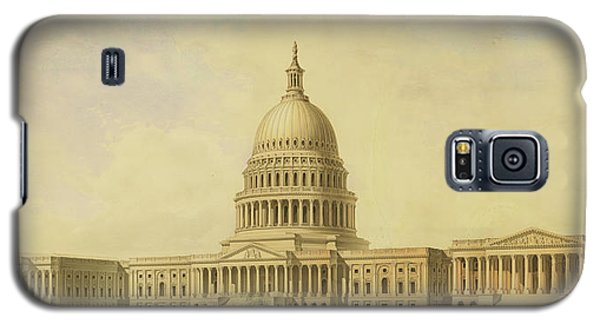 Perspective Rendering Of United States Capitol Galaxy S5 Case