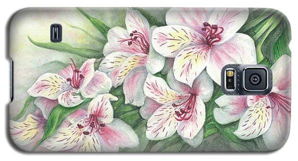 Peruvian Lilies Galaxy S5 Case