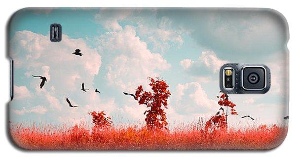 Cold Galaxy S5 Case - Photo Of Summer Landscape Shot In The by Skreidzeleu