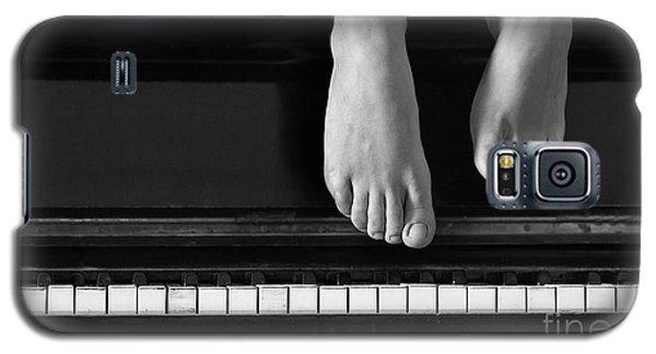 Piano #0215az Galaxy S5 Case