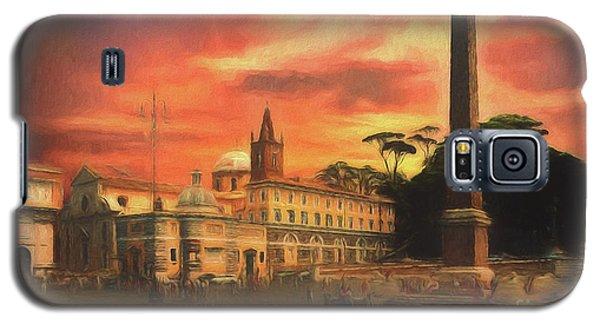 Piazza Del Popolo Rome Galaxy S5 Case