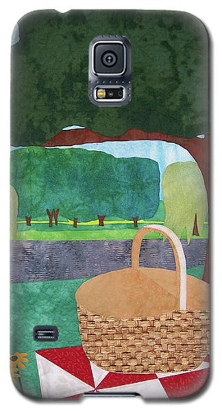 Picnic At Ellis Pond Galaxy S5 Case