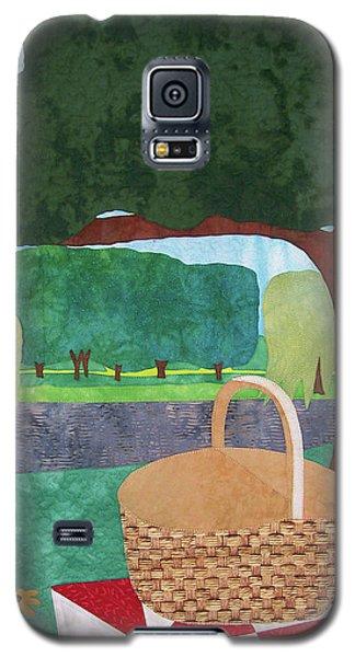 Picnic At Ellis Pond Galaxy S5 Case