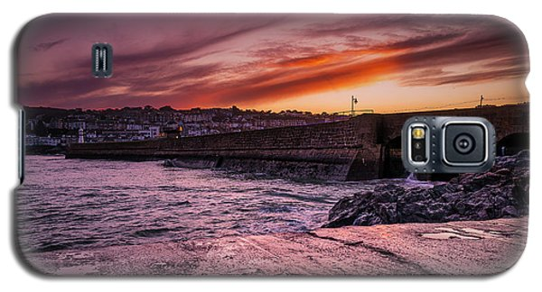 Pier To Pier Sunset Galaxy S5 Case