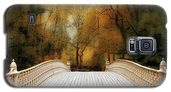 Pine Bank Arch In Autumn Galaxy S5 Case