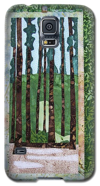 Pine Forest Tall Galaxy S5 Case