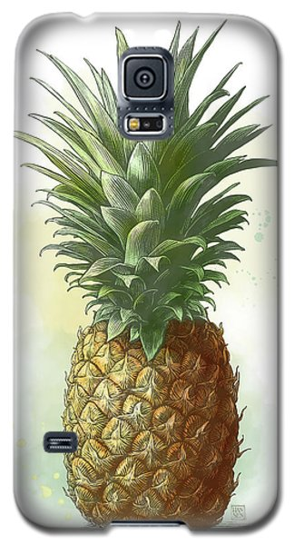 Pineapple Galaxy S5 Case