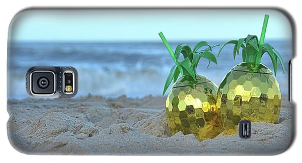 Pineapple Drinks Galaxy S5 Case