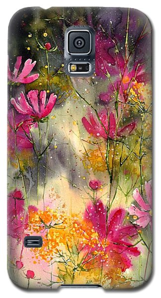 Orchid Galaxy S5 Case - Pink Ballerinas by Suzann's Art